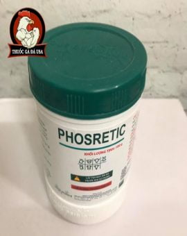 PHOSRETIC - Giải Độc Gan Thận Cho Gà Thú Cưng - Hủ X 100g
