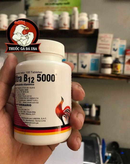 Thuốc Nuôi Gà Đá Ultra B12 5000