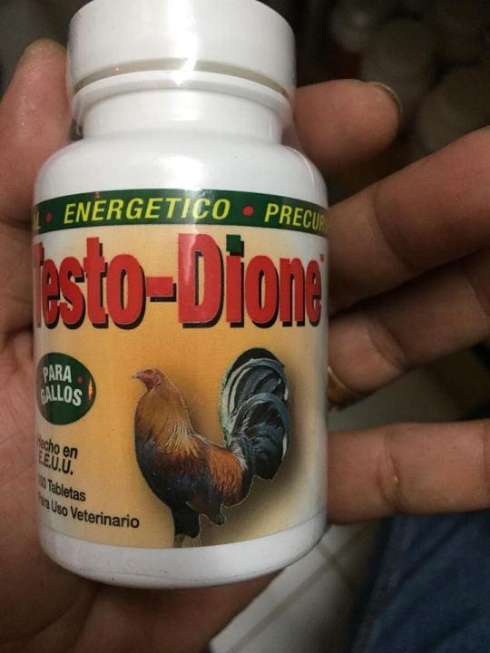 Thuốc nuôi gà tơ Testo Dione trị gà cự yếu - 100 viên