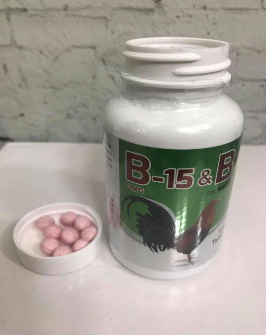 Thuốc Nuôi Gà Đá B15&B12 Giúp Gà Đá Po Lớn, Không Mệt Mỏi
