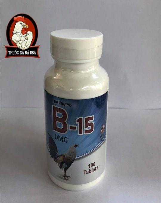 Thuoc Cho Ga B15 Cho Gà Đá Nap Pin Cấp Tốc - Hộp 100 Viên