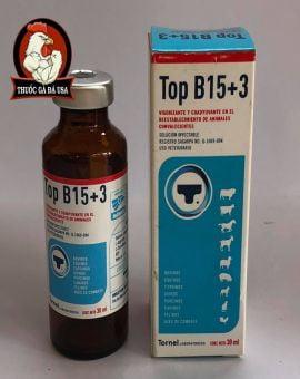 Thuoc Cho Ga Da Top B15 +3 - Chai Zin 30ML